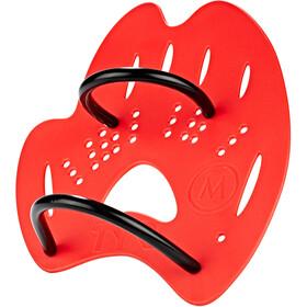 TYR Mentor 2 Håndpadler L, flou red